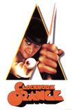 La naranja mecánica, mirando a través de un tríangulo, película, lámina póster Pósters