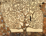 Gustav Klimt (Tree of Life) Art Print Poster Pster