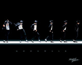Michael Jackson - Moonwalk, Music Poster Print Posters