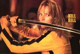 Kill Bill Movie (Uma Thurman w/ Sword) Poster Print Kunstdrucke