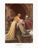 A Lady's Favor Prints by Edmund Blair Leighton