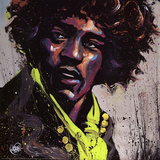 Hues of Hendrix Posters by David Garibaldi