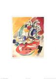 Improvisation 31 Sea Battle, c.1913 Kunstdrucke von Wassily Kandinsky