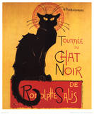 Theophile Steinlen (Tournee du Chat Noir) Art Poster Print Posters