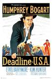 Deadline USA Movie (Humphrey Bogart) Poster Print Photo