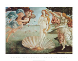The Birth of Venus Print by Sandro Botticelli