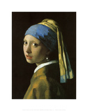 Girl with a Pearl Earring Plakater af Jan Vermeer