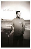 Jack Johnson (On Beach) Music Poster Print Masterprint