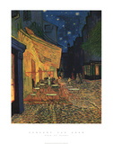 Cafe At Night Art by Vincent van Gogh