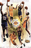 Los Angeles Lakers 2001 NBA Champions Sports Poster Print Posters