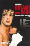 HBO Bryant Park 2006 Fil Festival (Rocky) Lobby Card Movie Postcard Print Posters