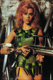 Jane Fonda (Barbarella) Movie Postcard Prints