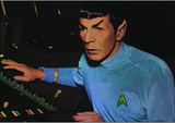 Star Trek - Spock (Leonard Nimoy) Television Postcard Posters
