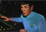 Star Trek - Spock (Leonard Nimoy) Television Postcard Posters