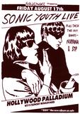 Vintage Sonic Youth NIRVANA STP Poster PICTURE Kunstdruck