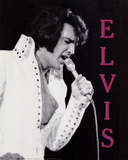 Elvis Presley in Concert, c.1970 Posters