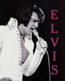 Elvis Presley in Concert, c.1970 Posters