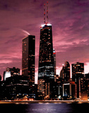 Chicago Illinois Art Print Poster Prints