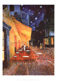 Vincent Van Gogh (Cafe Terrace At Night) Art Poster Print Posters
