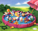 Disney Babies Kiddie Pool Poster