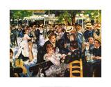 Moulin De La Gallette Plakat af Pierre-Auguste Renoir
