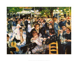 Moulin De La Gallette Print by Pierre-Auguste Renoir