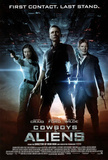 Cowboys and Aliens Movie First Contact Last Stand Double-Sided Poster Print Prints