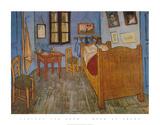 Bedroom in Arles Posters por Vincent van Gogh