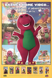 Barney Home Video Original Poster Print Prints