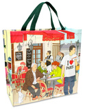 I Heart Paris Shopper Bag Sacola