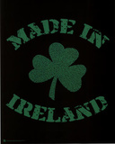 Made in Ireland (Lyrics to Danny Boy) Art Poster Print Posters