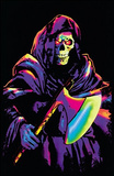 Reaper Psychedelic Fantasy Blacklight Art Poster Print Posters