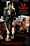 U Turn Movie Sean Penn Jennifer Lopez Original Poster Print Posters