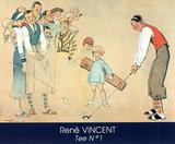 Rene Vincent (Tee No. 1) Art Poster Print Prints