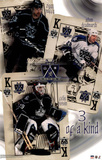 Los Angeles Kings 3 of a Kind Sports Poster Print Prints