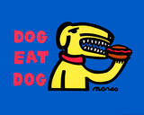 Dog Eat Dog Original Prints by Peter Marco