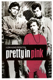 Vintage Pretty in Pink Movie (Group) Poster Print Photo