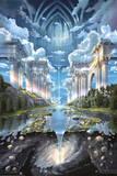 John Stephens (Genesis II) Art Poster Print Kunstdruck