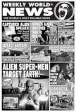 Weekly World News (Aliens) Art Poster Print Posters