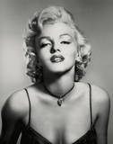 Marilyn Monroe (Portrait, B&W) Glossy Movie Photo Photograph Print Fotografía