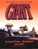 Giant Movie James Dean Elizabeth Taylor Affiches