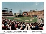 Ira Rosen Baltimore Orioles Camden Yards Inaugural Season 1992 Sport Poster Print Print