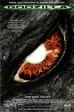 Godzilla Movie Eye Original Poster Print Prints