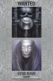H.R. Giger (ELP Wanted) Art Poster Print Posters