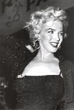 Marilyn Monroe (Beaded Dress) Movie Poster Print Poster
