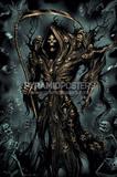 Soul Reaper (Skeletons) Art Poster Print Posters