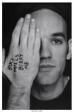 Michael Stipe (Hand & Face) Music Poster Print Posters