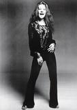 Janis Joplin Black and White Music Poster Print Foto