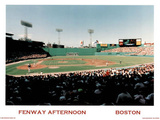 Ira Rosen Boston Red Sox Fenway Afternoon Sports Poster Print Poster