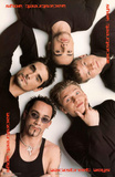 Backstreet Boys Group Circle Music Poster Posters
